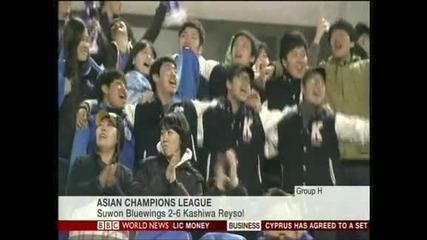 """""""Гуанжоу"""" и """"Кашива Рейсол"""" с нови победи в азиатската Шампионска лига"""