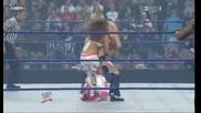 Summerslam2008 Mickie James And Kofi Kingston Vs Beth Phoenix And Santino Marella [championship Matc