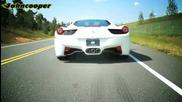 700коня Ferrari 458 Italia Twin Turbo by Underground Racing