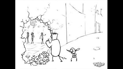 Frankenstein vs Dartagnan (xpyc Team)