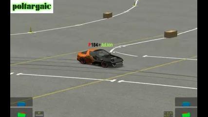 P184*julian drift in autocross Live For Speed 0.b