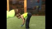 Vip Brother - Аксиния тренира