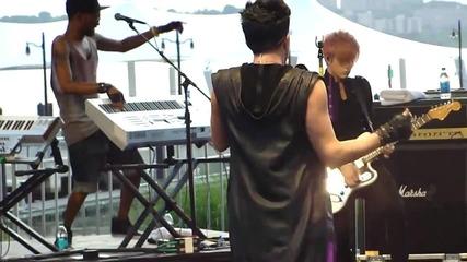 Adam Lambert - Shady (freshtival 5_27)