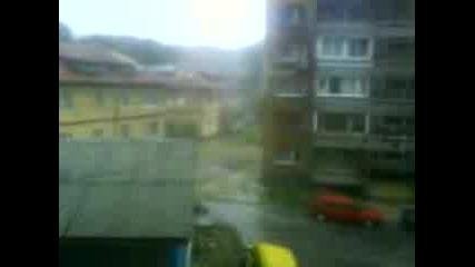 Кратката Буря В Бургас