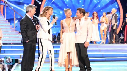 PDA Alert! DWTS' Robert Herjavec and Kym Johnson Spotted Kissing