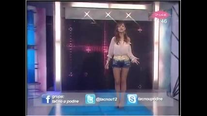 Maya - Leti ptico slobodno - Tacno u podne - (TV Pink 2012)