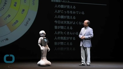 Emotional Robot Pepper Sells Out After 1,000 Units Bought in One Minute