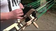 Невероятно изобретение прашка-картечница