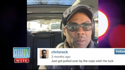 Chris Rock Pulled Over, Again.