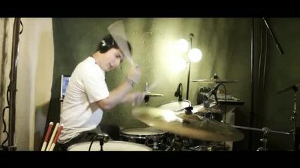 Eminem ft. Rihanna - Love the Way You Lie (drum Cover)