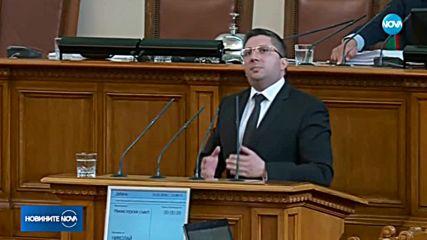 ЖЕГА В ПАРЛАМЕНТА: БСП и министър Нанков се скараха за магистралите