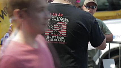 USA: 'The only man who has enough balls to tell it like it is' – vocal Trump supporters hit NYC