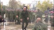 Командоси показаха впечатляващи бойни умения