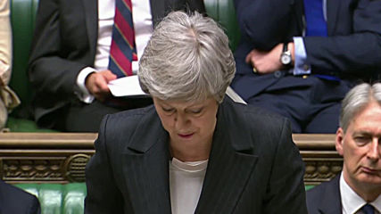 UK: May makes case for resurrected deal as MPs tell her it's 'dead'