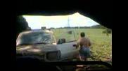 Руски джип се подиграва с мицубиши в Бяла 2
