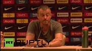 USA: Luis Enrique & Iniesta hold first Barca press conference on US tour