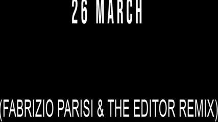 ALMA - Far Faraway (Fabrizio Parisi & The Editor Remix) [Official Teaser]