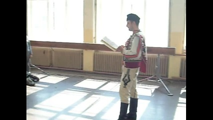 Урок по родолюбие в училище Стоян Михайловски