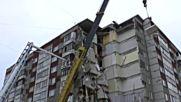Седем станаха жертвите след рухването на блок в Русия