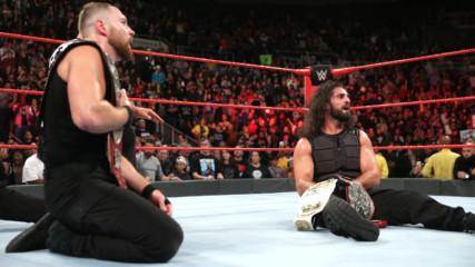 Drew McIntyre & Dolph Ziggler vs. Seth Rollins & Dean Ambrose - Raw Tag Team Championship Match: Raw, Oct. 22, 2018