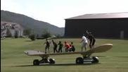Гигандски скеитборд