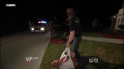 Triple H Attacks Randy Orton In His House