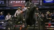 Paulo Lima rides Crosswired for 92.25 points