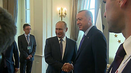 Turkey: Erdogan, Putin hold bilateral talks ahead of Syria summit