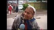 Луда баба изцепи най - циганско интервю