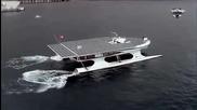 Най-голямата соларна лодка в света прекоси Атлантика