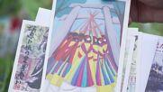 Morning glories grown at elementary schools bring Japanese summer to Tokyo Olympics