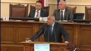 Борисов: Не е възпитано Искров още да е шеф на БНБ