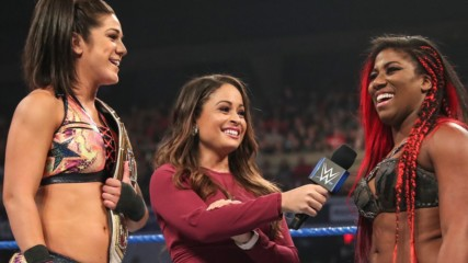 Ember Moon & Bayley vs. Mandy Rose & Sonya Deville: SmackDown LIVE, July 16, 2019