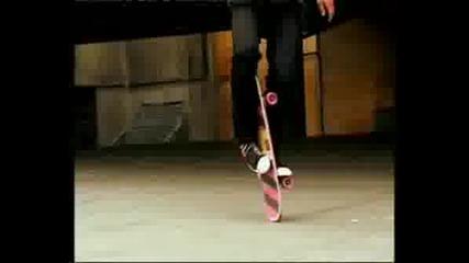 Darran Nolan Freestyle Skateboarding
