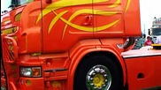 Cool Scaniav8 on the Truckmeeting