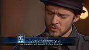 Justin Timberlake & Matt Morris - Hallelujah Hope For Haiti