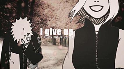 Naruto Sakura -i Don T Fucking Care {narusaku}