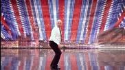 Великобритания търси талант - Танцът на Stevan Hall