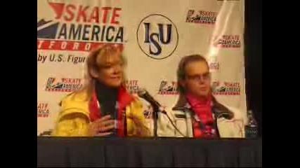 Denkova & Staviski Press Conference