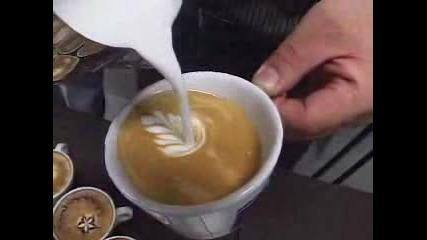 Произведения На Изкуството Върху Кафе(2)