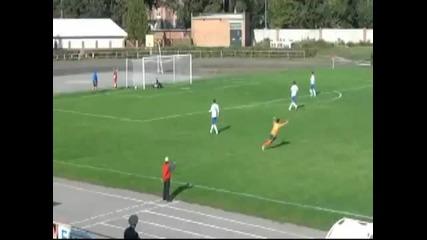 Руснак вкара най-бързия гол в историята на футбола