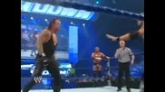 Wwe Smackdown 02.06.2009 Hhh And Undertaker Vs Big Show And Edge Част 1