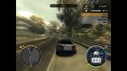 Nfs Most Wanted - състезание с Bmw M3 - 1