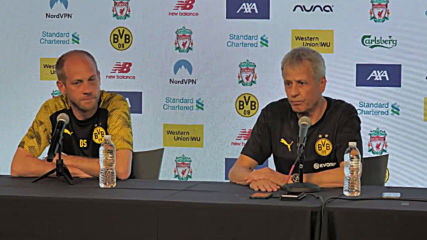 USA: Dortmund coach Favre showers praise on Liverpool ahead of Indiana friendly