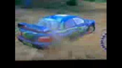 Пукане на гума на colin mcrae 2004