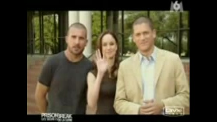 Dominic Purcell ,Wentworth Miller, Sarah