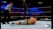 [част3] The Rock and John Cena vs Awesome Truth - Survivor Series 2011