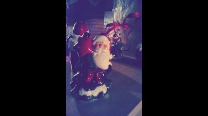 Коледната украса в моята стая! HD снимки