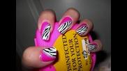Маникюр Wild Zebra