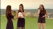 Кристиана, Славена и Теодора в къщата на съдиите - X Factor (14.10.2014)